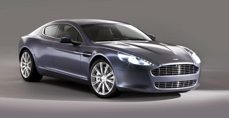 Aston Martin Rapide: Nové fotografie: - fotka 27