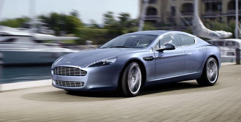 Aston Martin Rapide: Nové fotografie: - fotka 28