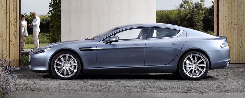 Aston Martin Rapide: Nové fotografie: - fotka 29