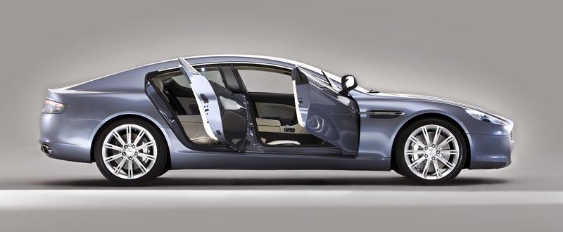Aston Martin Rapide: Nové fotografie: - fotka 31