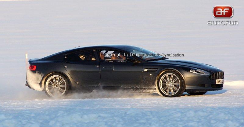 Spy Photos: Aston Martin Rapide: - fotka 5