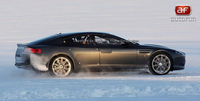 Spy Photos: Aston Martin Rapide: - fotka 7