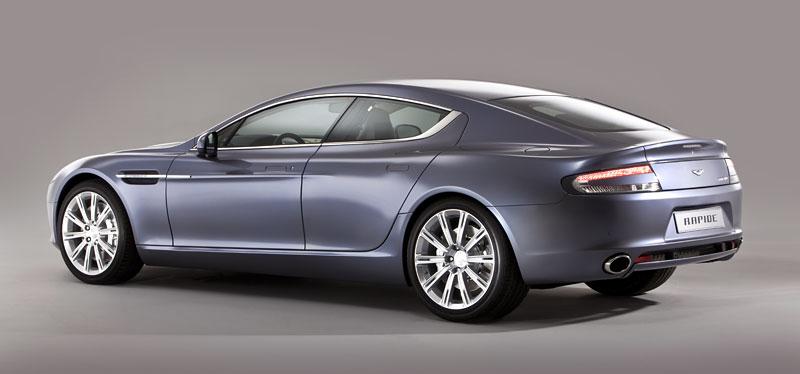 Aston Martin Rapide: Nové fotografie: - fotka 32