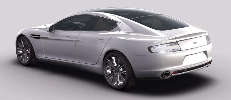 Aston Martin Rapide: další foto a základní informace: - fotka 5