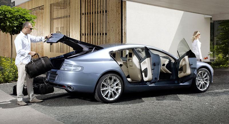 Frankfurt 2009 živě: Aston Martin Rapide - první dojmy: - fotka 28