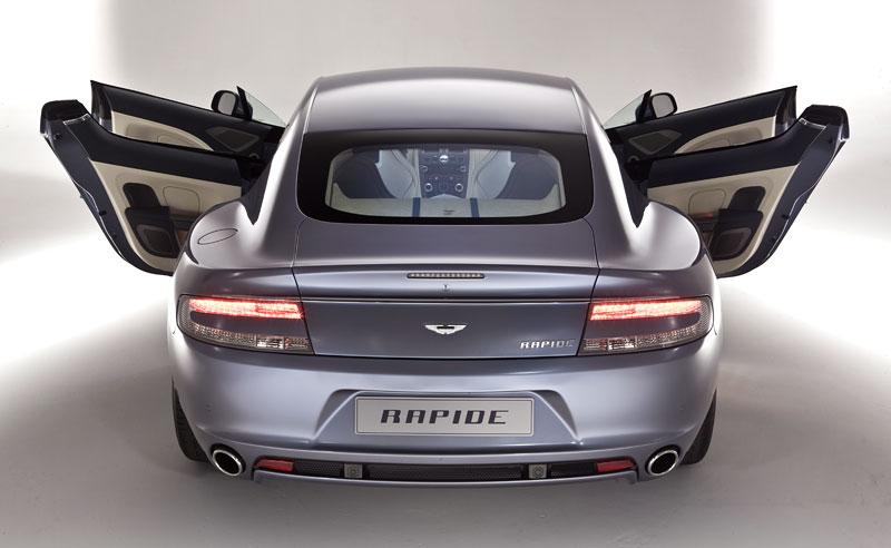 Aston Martin Rapide: Nové fotografie: - fotka 36