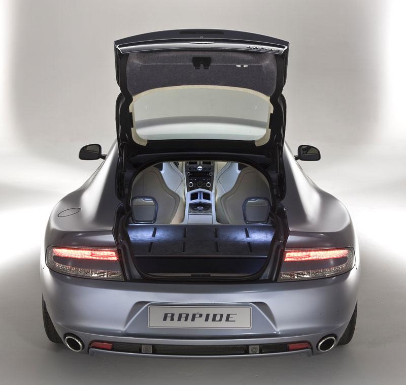 Aston Martin Rapide: Nové fotografie: - fotka 37