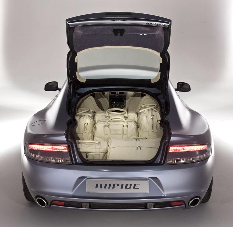 Aston Martin Rapide: Nové fotografie: - fotka 38