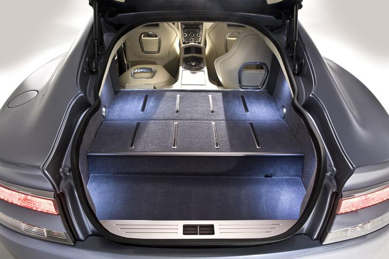 Aston Martin Rapide: Nové fotografie: - fotka 40