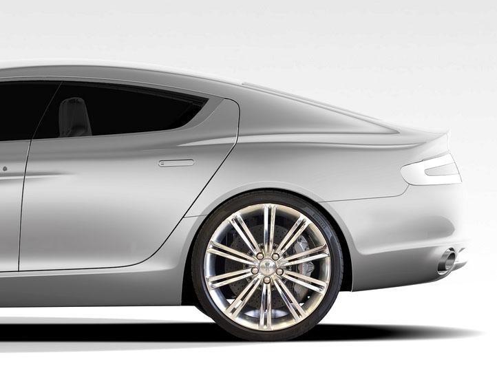 Aston Martin Rapide: další foto a základní informace: - fotka 6