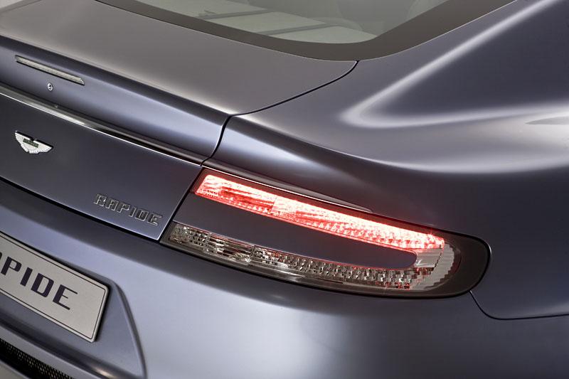 Aston Martin Rapide: Nové fotografie: - fotka 52