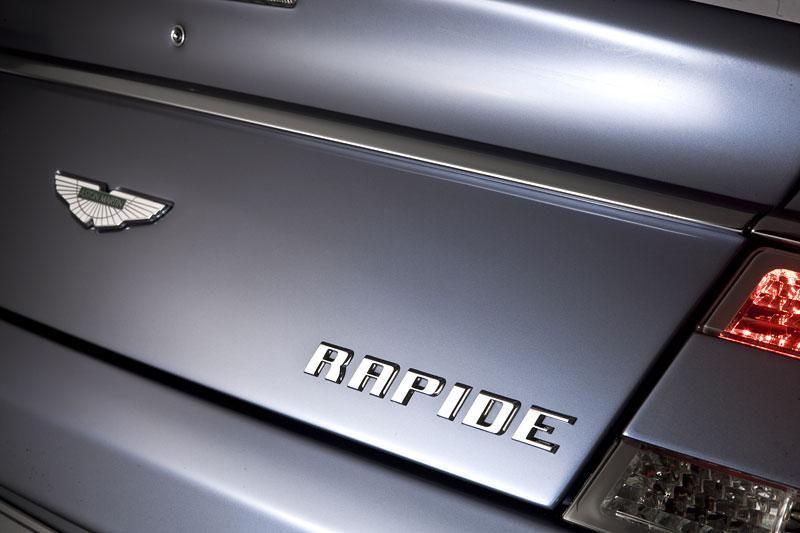Aston Martin Rapide: Nové fotografie: - fotka 55