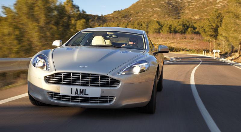 Aston Martin Rapide: konečně pořádná fotogalerie!: - fotka 12