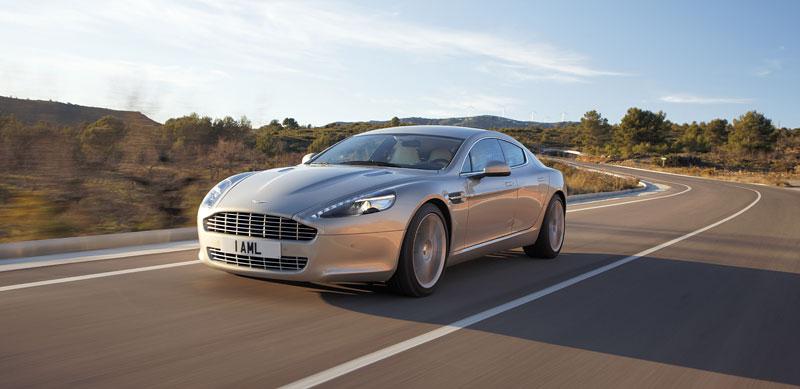 Aston Martin Rapide: konečně pořádná fotogalerie!: - fotka 14