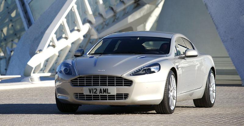 Aston Martin Rapide: konečně pořádná fotogalerie!: - fotka 17