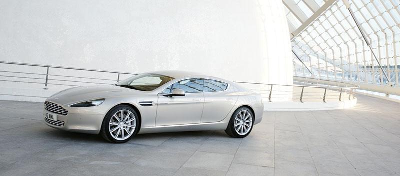 Aston Martin Rapide: konečně pořádná fotogalerie!: - fotka 20