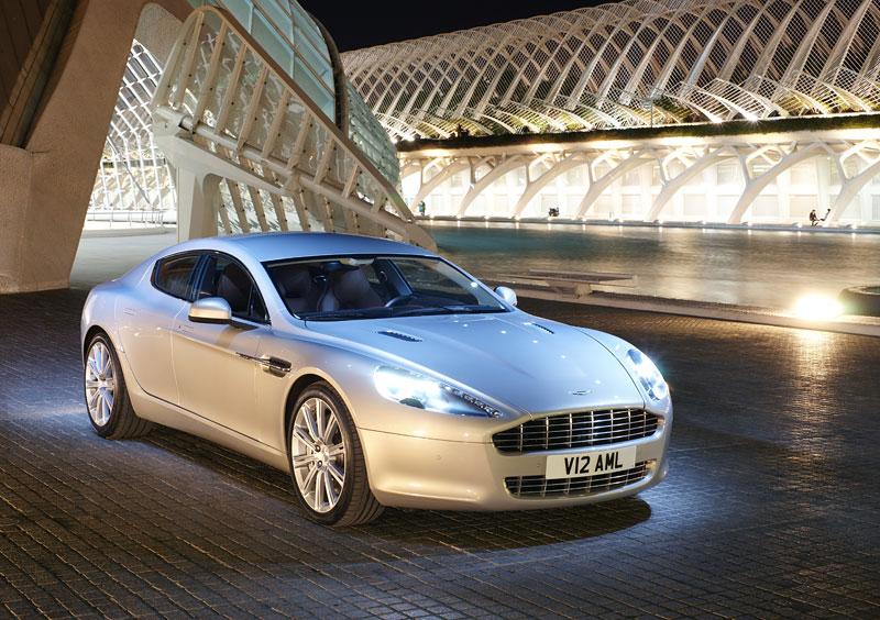 Aston Martin Rapide: konečně pořádná fotogalerie!: - fotka 24
