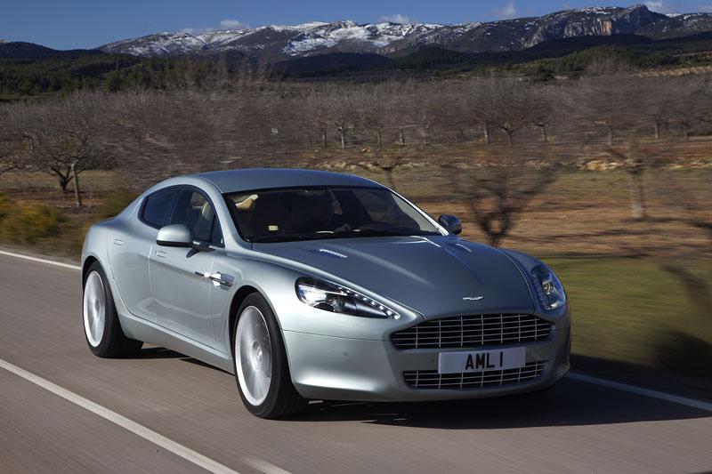 Aston Martin Rapide: konečně pořádná fotogalerie!: - fotka 57
