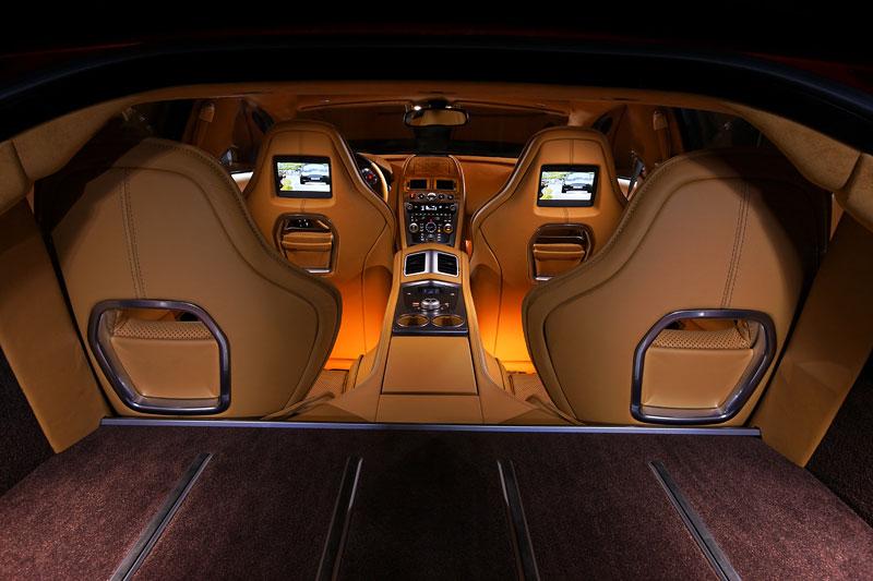 Aston Martin Rapide: konečně pořádná fotogalerie!: - fotka 77