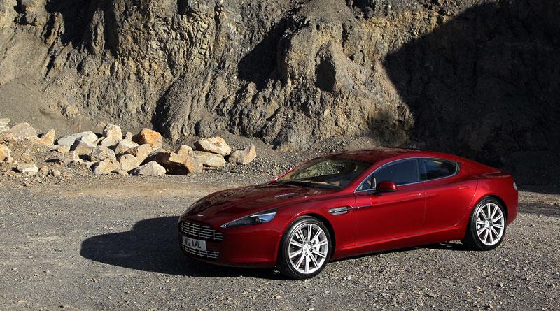 Aston Martin Rapide: konečně pořádná fotogalerie!: - fotka 83