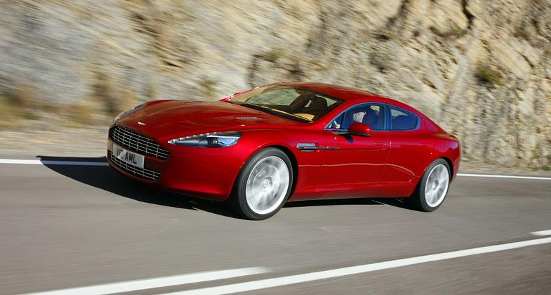 Aston Martin Rapide: konečně pořádná fotogalerie!: - fotka 84