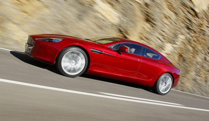 Aston Martin Rapide: konečně pořádná fotogalerie!: - fotka 88