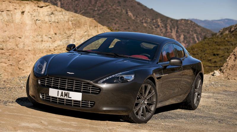 Aston Martin Rapide: konečně pořádná fotogalerie!: - fotka 109
