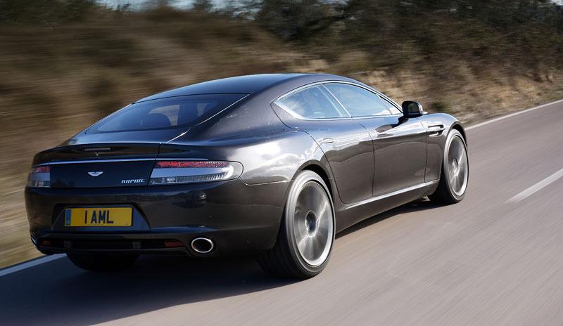Aston Martin Rapide: konečně pořádná fotogalerie!: - fotka 112