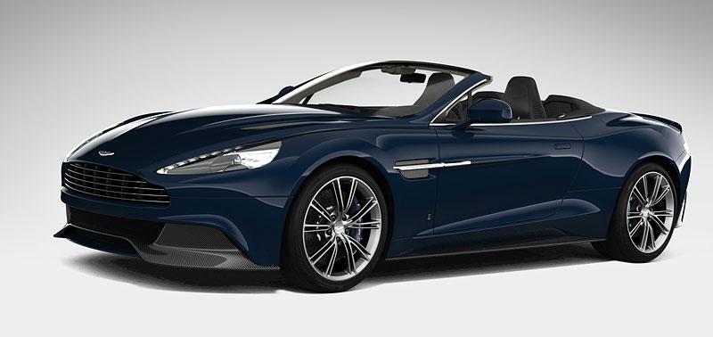Aston Martin Vanquish Volante pro vánoční katalog Neiman Marcus: - fotka 2
