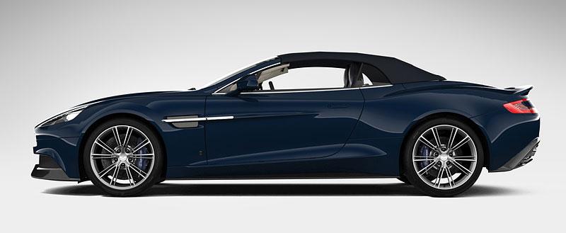 Aston Martin Vanquish Volante pro vánoční katalog Neiman Marcus: - fotka 3