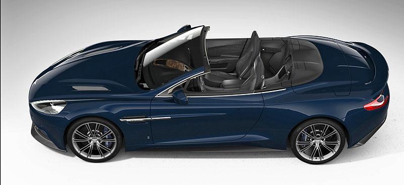 Aston Martin Vanquish Volante pro vánoční katalog Neiman Marcus: - fotka 4