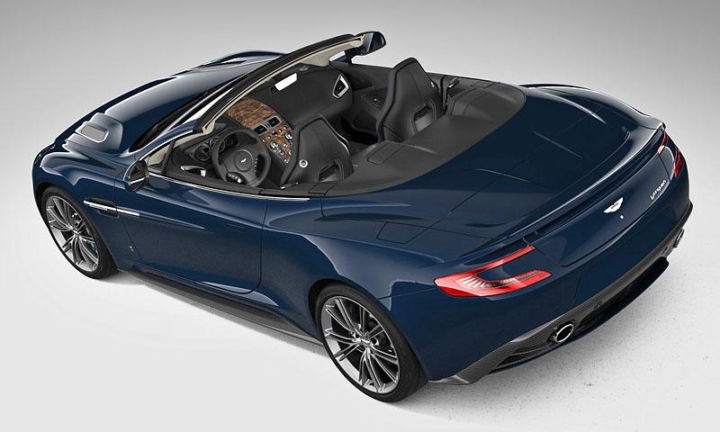 Aston Martin Vanquish Volante pro vánoční katalog Neiman Marcus: - fotka 5