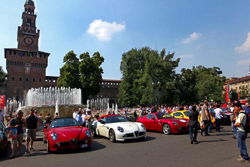 Alfa Romeo oslavila v Miláně sto let existence: - fotka 4