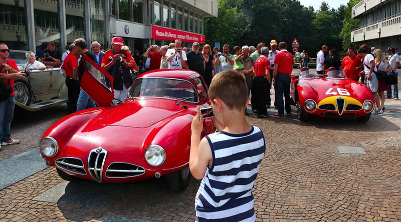Alfa Romeo oslavila v Miláně sto let existence: - fotka 9