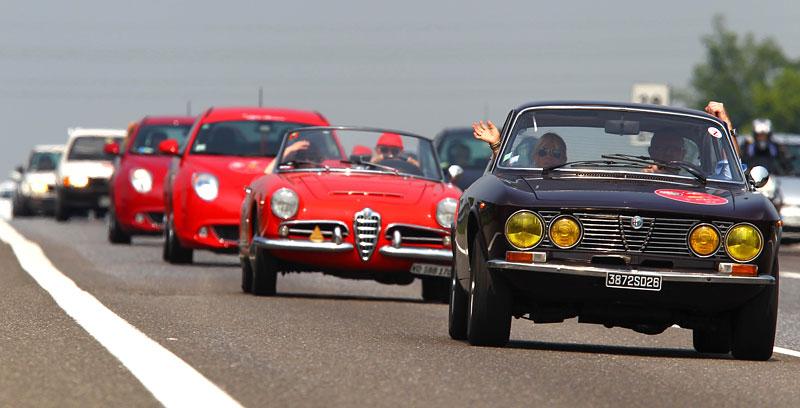 Alfa Romeo oslavila v Miláně sto let existence: - fotka 11