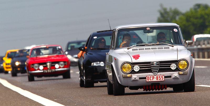 Alfa Romeo oslavila v Miláně sto let existence: - fotka 13