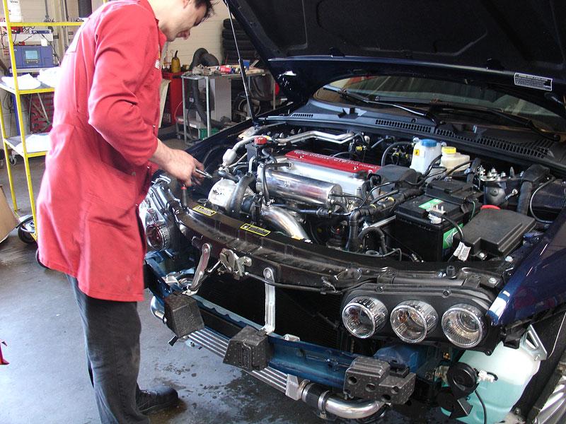 Autodelta 159 J4 2.2 C Development Project: - fotka 5