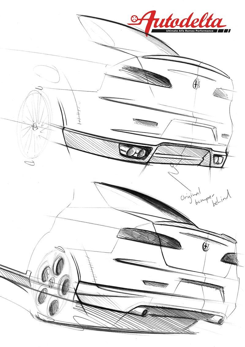 Autodelta 159 J4 2.2 C Development Project: - fotka 13