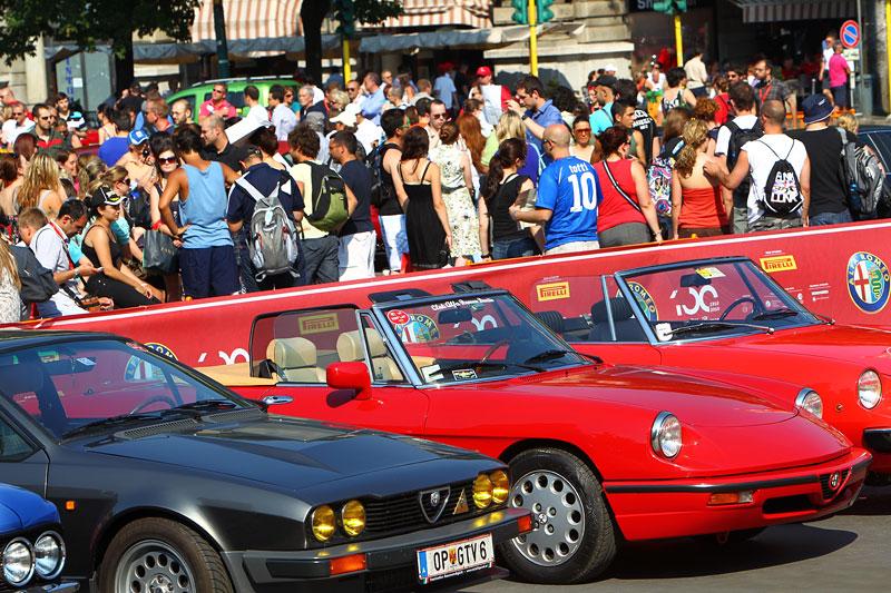 Alfa Romeo oslavila v Miláně sto let existence: - fotka 17