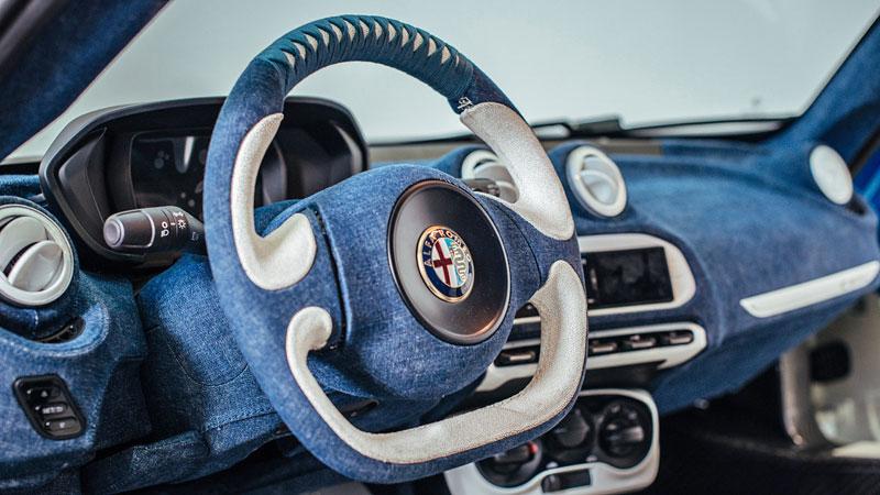Alfa Romeo 4C Hokusai: Výstavní kus od Garage Italia Customs: - fotka 1