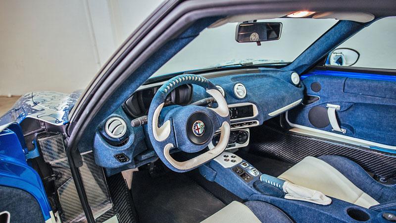 Alfa Romeo 4C Hokusai: Výstavní kus od Garage Italia Customs: - fotka 2