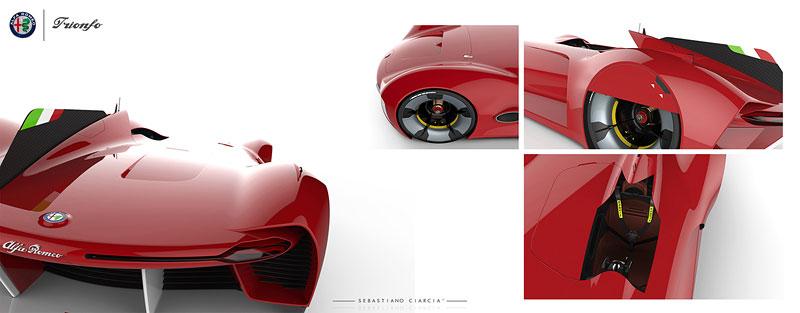 Alfa Romeo Triomfo: Osud kříže a hada mnohým nedává spát: - fotka 19