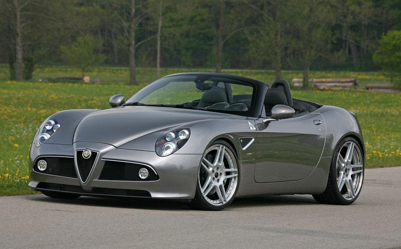 Alfa Romeo 8C Spider: 600 koní od Novitec: - fotka 1