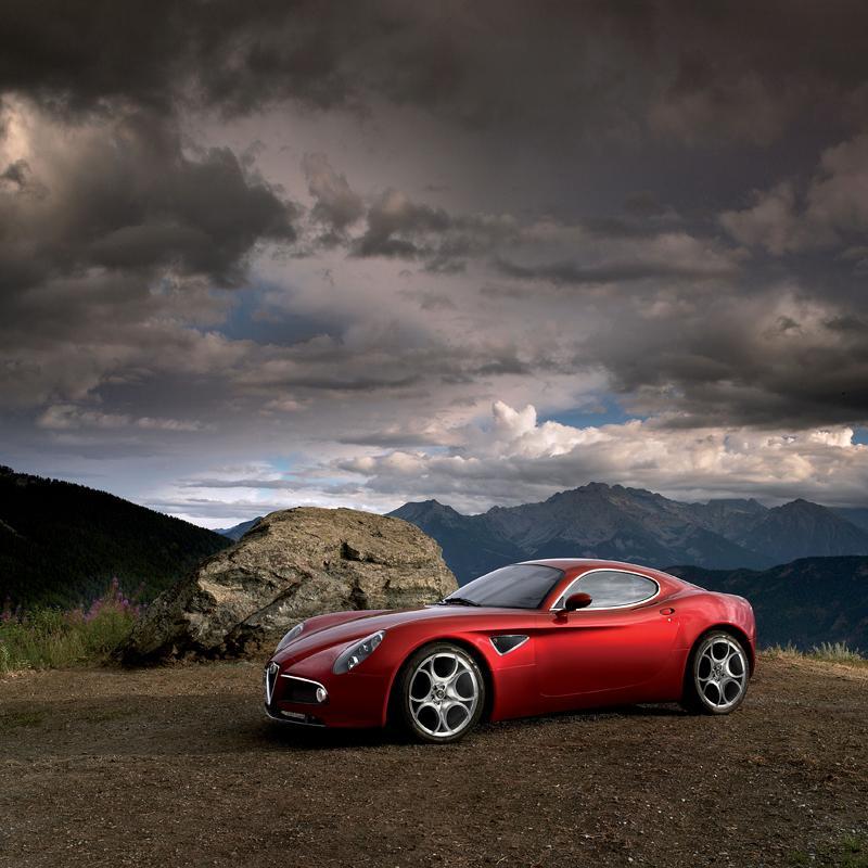 Alfa Romeo přemýšlí o 8C Competizione GTA...: - fotka 5