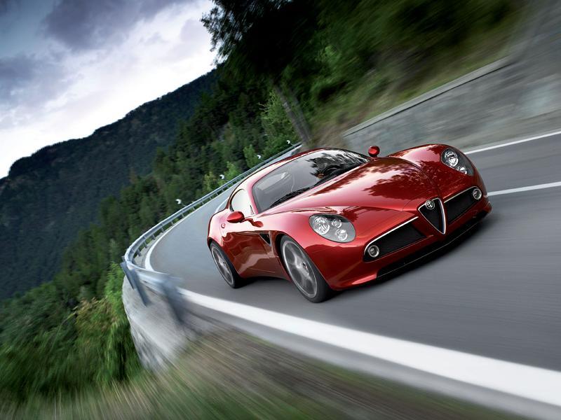 Alfa Romeo přemýšlí o 8C Competizione GTA...: - fotka 6