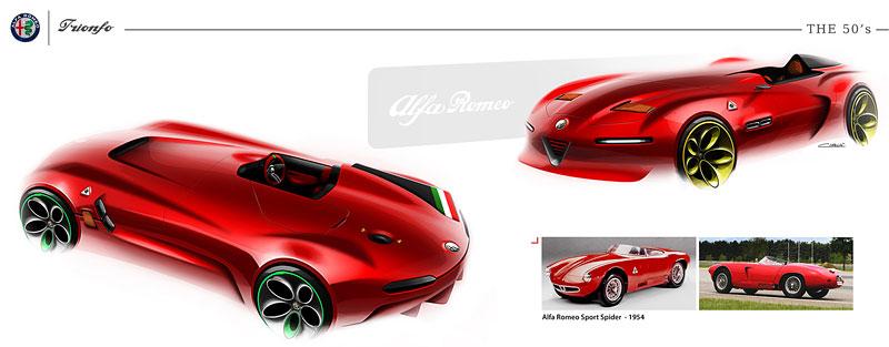 Alfa Romeo Triomfo: Osud kříže a hada mnohým nedává spát: - fotka 25