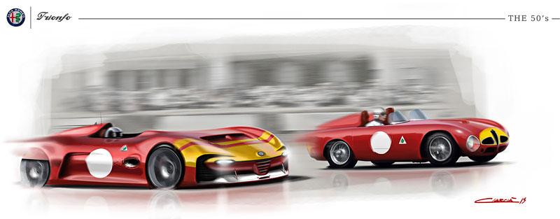Alfa Romeo Triomfo: Osud kříže a hada mnohým nedává spát: - fotka 39