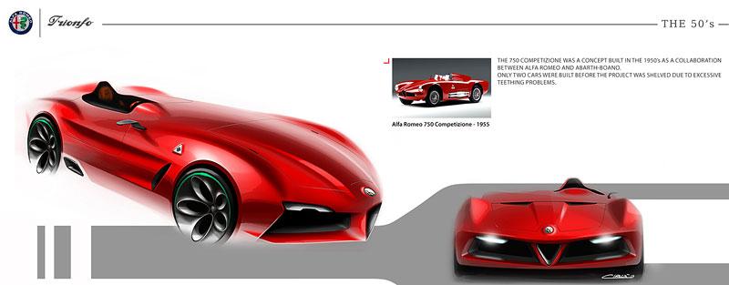 Alfa Romeo Triomfo: Osud kříže a hada mnohým nedává spát: - fotka 40