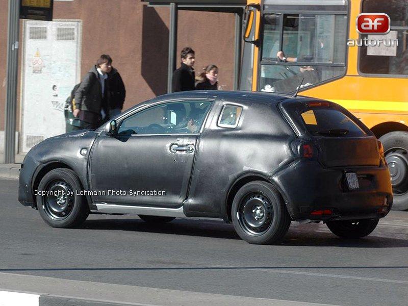 Spy Photos: Alfa Romeo Junior: - fotka 6