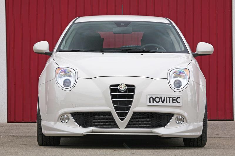 Alfa Romeo MiTo: ostřejší vzhled a vyšší výkon od Novitec: - fotka 1